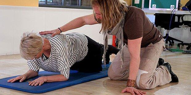 Hartes Training für Lisbeth Bischoff