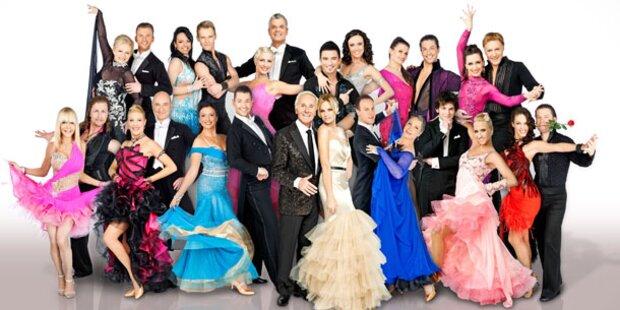 Dancing Stars: Wer soll als Erste fliegen?