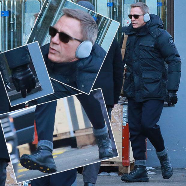 """Bond"": So cool ist Craig beim Dreh"