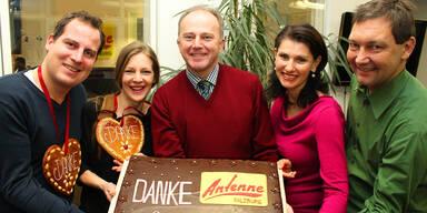 DANKE an alle Antenne Salzburger!!