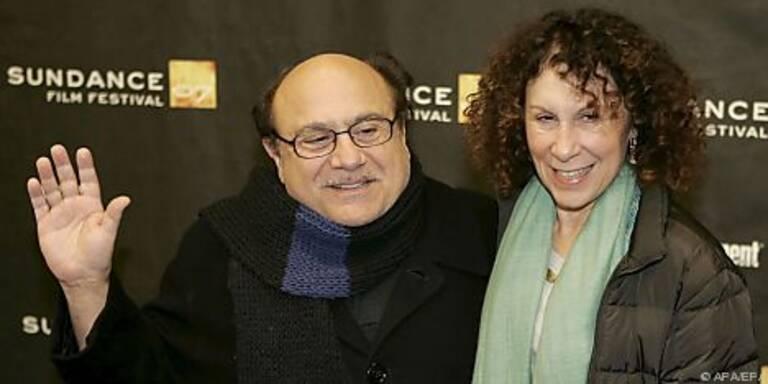 Danny DeVito mit seiner Frau Rhea Perlman