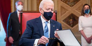Das sind Joe Bidens erste Amtshandlungen als US-Präsident