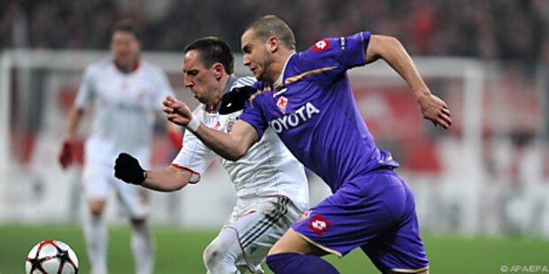 FC Bayern reiste mit 2:1 und Alaba nach Florenz