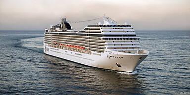 Das Schiff ist im östlichen Mittelmeer unterwegs
