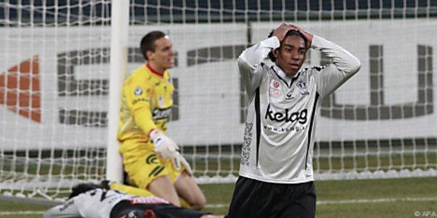 Kärnten unterlag auch Kapfenberg - 0:1