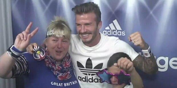 Beckham überrascht Olympia-Fans