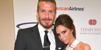 Beckham: Peinliche Hochzeitsfotos