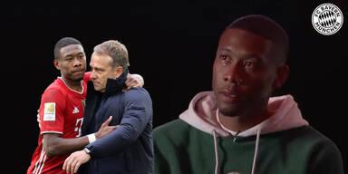 Emotionaler Bayern-Abschied: Alaba in Tränen
