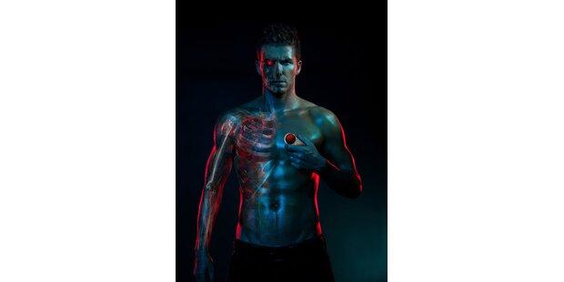 David Beckham macht den sexy Terminator