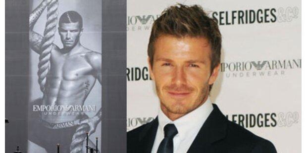 David Beckham zieht sich wieder aus!