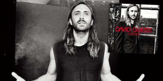 Listen: David Guetta lässt aufhorchen