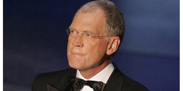 Letterman mit Sex-Affären erpresst