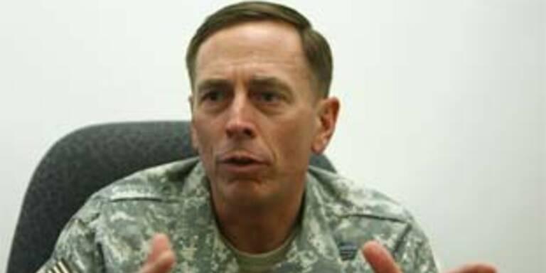 Kommandant der US-Truppen im Irak, David Petraeus