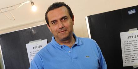 Neapel Bürgermeister Luigi De Magistris