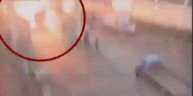 Autobombenanschlag an Grenze - 13 Tote