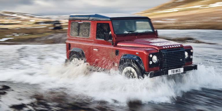 Land Rover bringt den Defender zurück