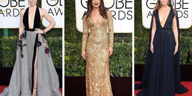 Dekolleté Golden Globes 2017