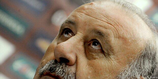 Del Bosque warnt Spanier vor hohen WM-Erwartungen
