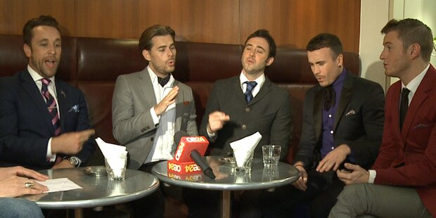 THE OVERTONES im Oe24 Interview