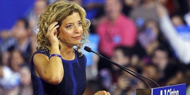 USA: Demokratenchefin zurückgetreten