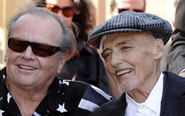 Dennis Hopper mit Hollywood-Stern ausgezeichnet