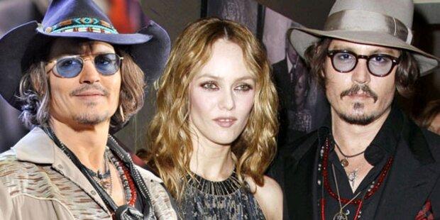 Johnny Depp: Glücklich nach Trennung
