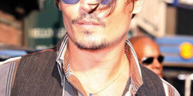 Johnny Depp zum zweiten Mal