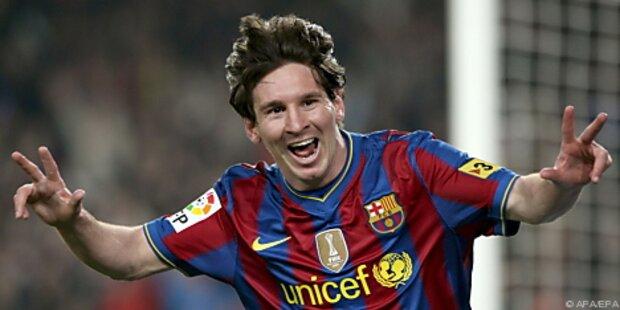 Messi trifft und trifft für FC Barcelona