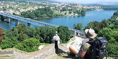 Der Ausblick von der Stadtmauer Valenças