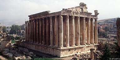 Der Bacchus-Tempel in Baalbek