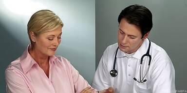 Der Besuch beim Arzt ist für Diabetiker Routine