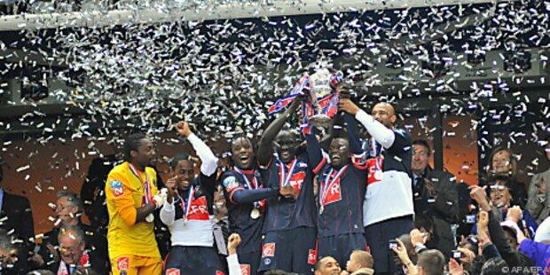 Paris St. Germain zum achten Mal Cupsieger