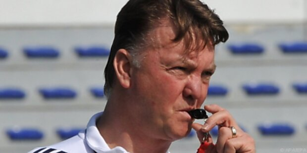 Bayern-Trainer Van Gaal vertraut Alaba