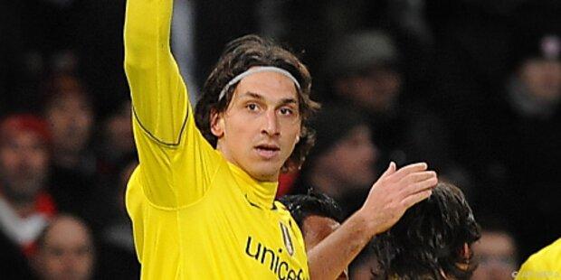 Barca im Rückspiel gegen Arsenal ohne Ibrahimovic