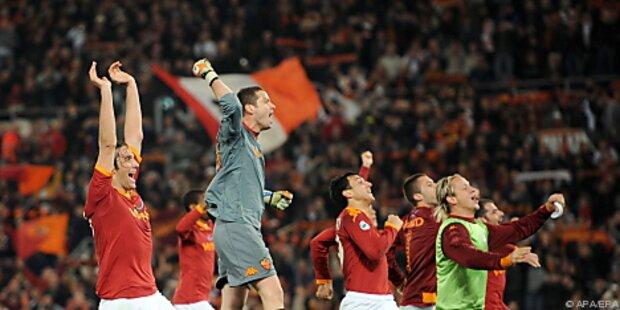 AS Roma rückte mit 2:1 einen Punkt an Inter heran