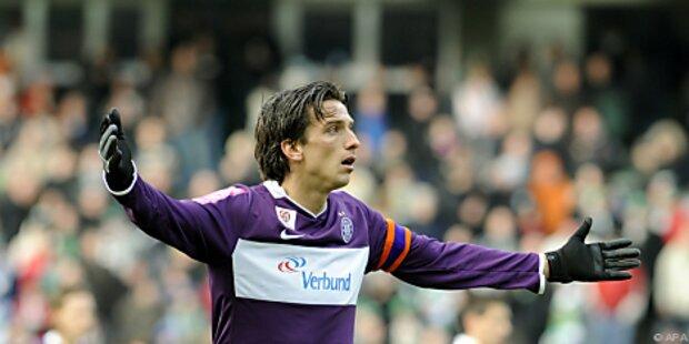 Austrias Acimovic nach Ausschluss Spiele gesperrt
