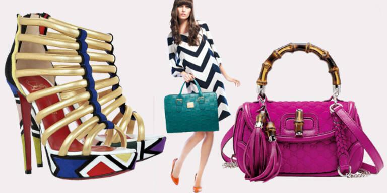 Sommer Accessoires Schuhe Taschen