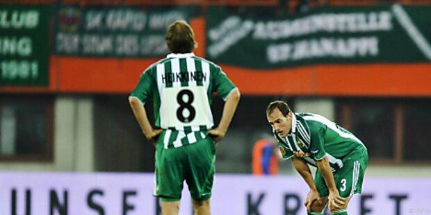 Ein-Spiel-Sperre für Rapids Markus Heikkinen