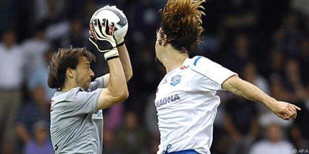 Austria-Goalie Safar erlitt Einrisse in Schulter