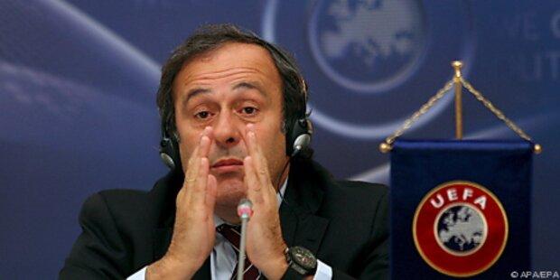 EM-Veranstalter Ukraine zittert vor Platini-Besuch