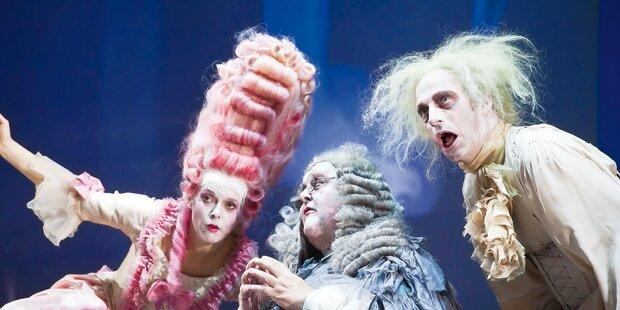 Schriller Molière hat heute Burg-Premiere