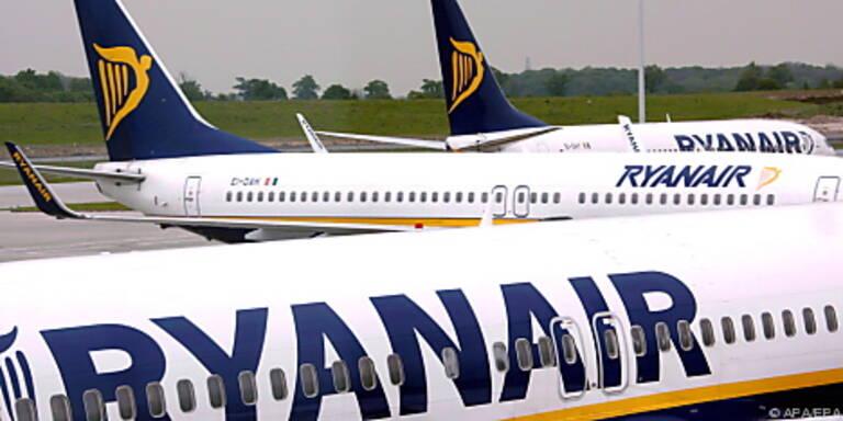 Der irische Billigcarrier Ryanair