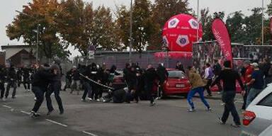 Hooligan-Krieg vor Wiener Derby