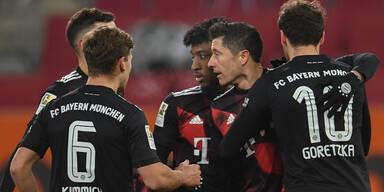 Deutsche Bundesliga: Ergebnis von Bayern München gegen Augsburg 1-0