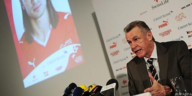 Schweiz-Teamchef Hitzfeld hat seinen 23-Mann-Kader