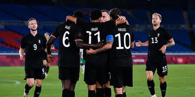 Deutschland wahrt sich Chance auf Viertelfinale