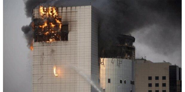 7 Tote bei Feuer in Einkaufszentrum