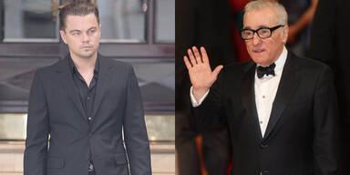 DiCaprio & Scorsese drehen fünften Film