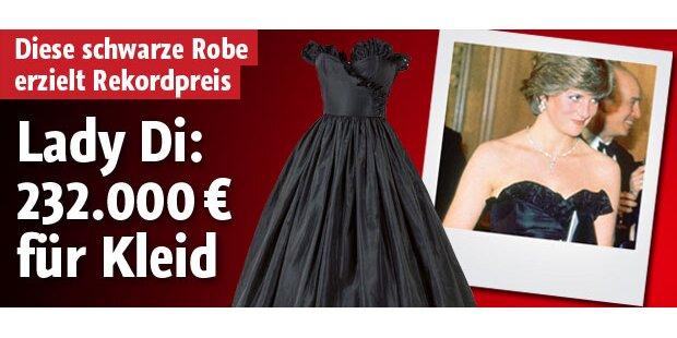 232.000 € für Lady Di's Kleid