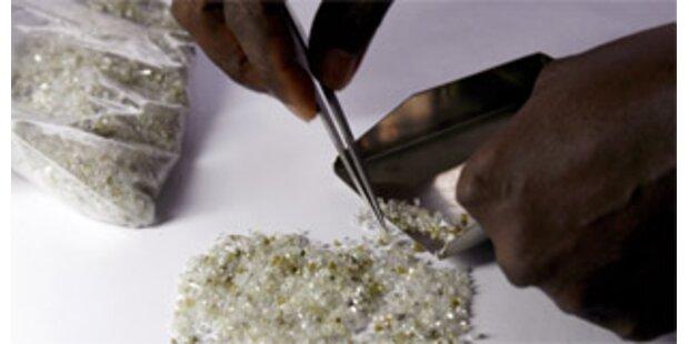 Kongo kämpft gegen Handel mit Blutdiamanten